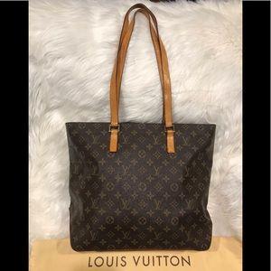 Authentic Louis Vuitton Cabas Mezzo #9.7M